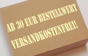 Ab 30 EUR Bestellwert versandkostenfrei